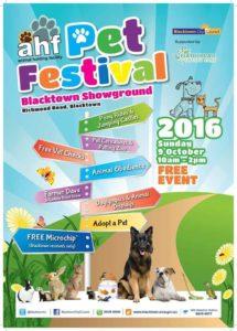 Blacktown City Pet Festival 2016