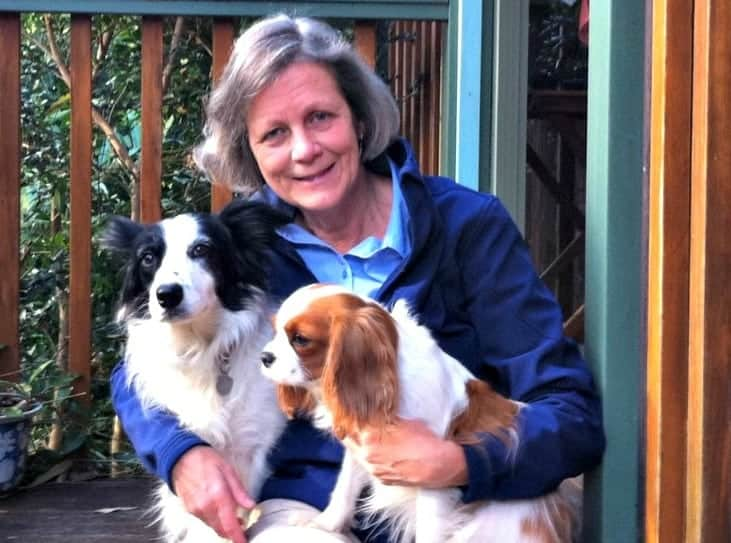 Dr Georgina Child explains back pain in pets