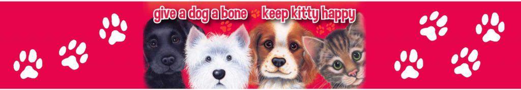 Give a dog a bone, keep kitty happy Christmas Appeal.