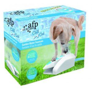 Dog Christmas Gifts Garden Water Fountain