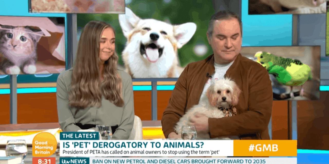 PETA wants you to stop saying 'pet'