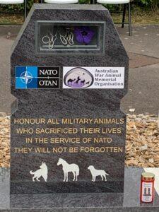 New War Animals Memorial unveiled